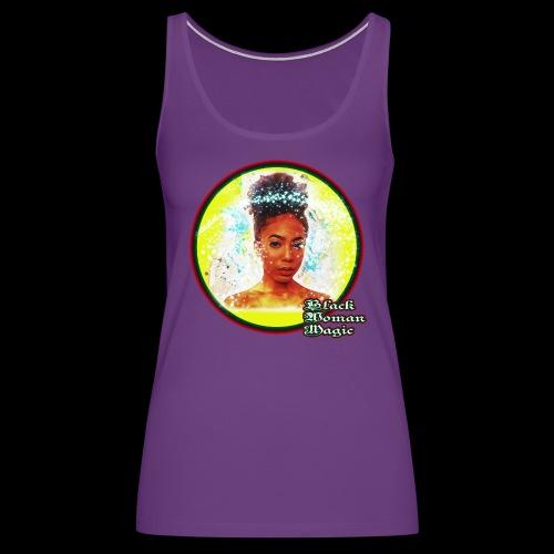 Black Woman Magic - Women's Premium Tank Top