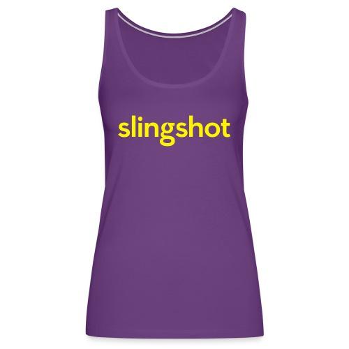 SlingShot Logo - Women's Premium Tank Top