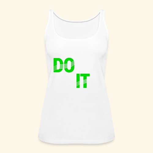 DON'T QUIT #4 - Women's Premium Tank Top