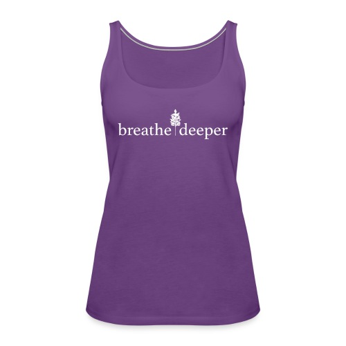 Breather Deeper Emily s Help 2017 Prinful White D - Women's Premium Tank Top
