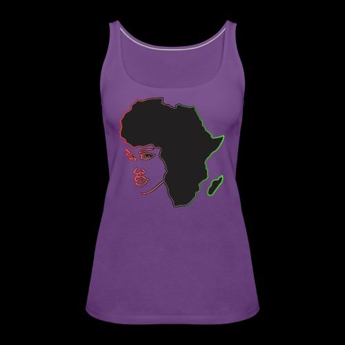 Afrika is Woman - Women's Premium Tank Top