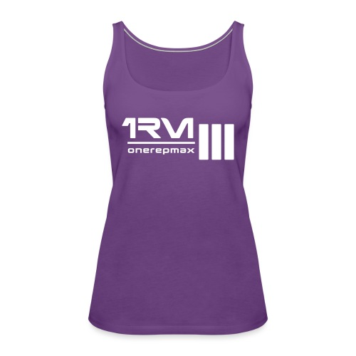 1rm logo final - Women's Premium Tank Top