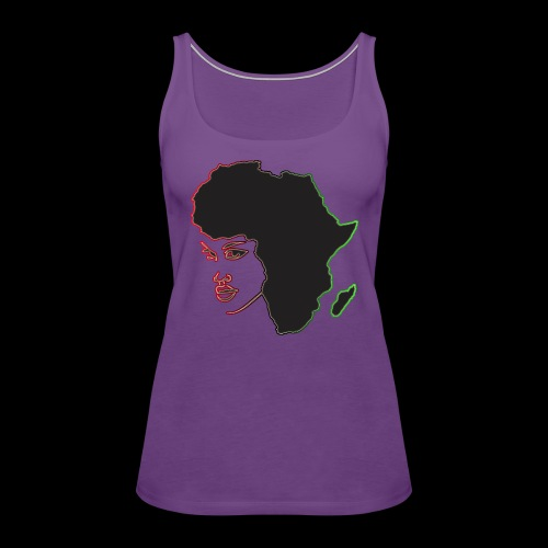 Afrika is Woman - Women's Premium Tank Top