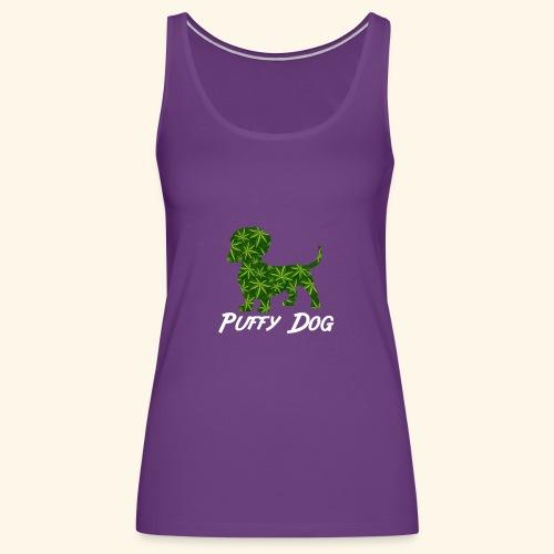 PUFFY DOG - PRESENT FOR SMOKING DOGLOVER - Women's Premium Tank Top