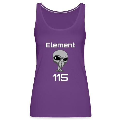 Element 115 Moscovium Alien Fuel - Women's Premium Tank Top