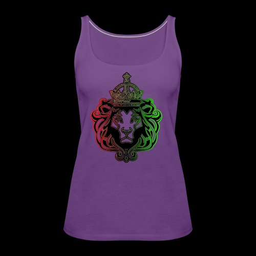 RBG Lion - Women's Premium Tank Top