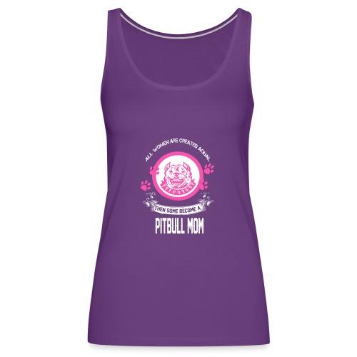 pitbullmom - Women's Premium Tank Top