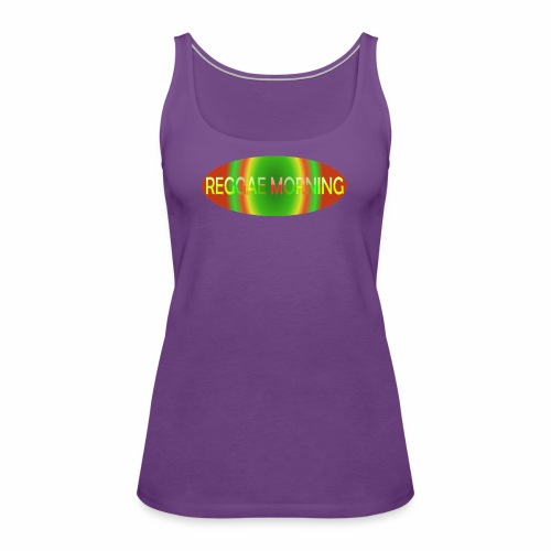 Reggae Morning Spiral - Women's Premium Tank Top