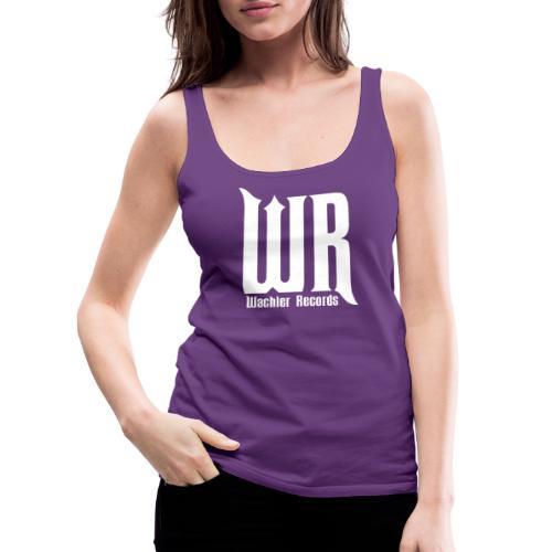 Wachler Records Light Logo - Women's Premium Tank Top