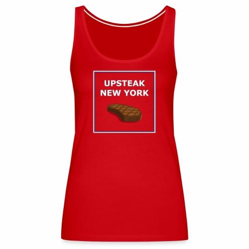 Upsteak New York   July 4 Edition - Women's Premium Tank Top