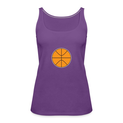 Plain basketball - Women's Premium Tank Top
