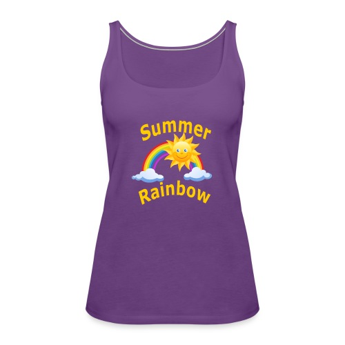 Summer Rainbow - Women's Premium Tank Top