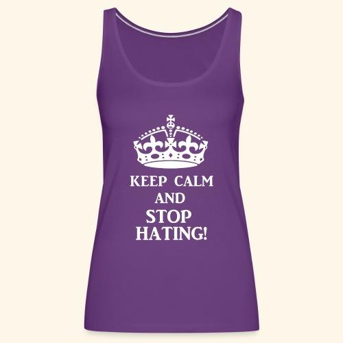 stoph8ingwht - Women's Premium Tank Top
