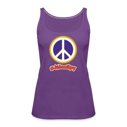 Fillmore Peace Explorer Badge - Women's Premium Tank Top
