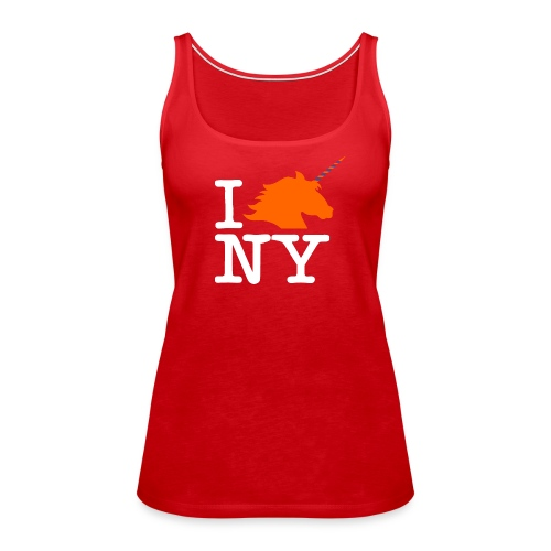 I Unicorn New York (Kristaps Porzingis) - Women's Premium Tank Top