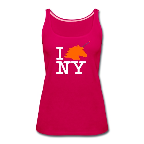 I Unicorn New York (Kristaps Porzingis) - Women's Premium Tank Top