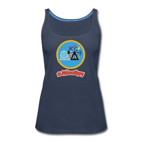 Paradise Pier Explorer Badge - Women's Premium Tank Top