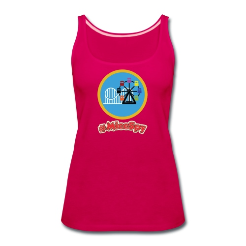 Paradise Pier Explorer Badge - Women's Premium Tank Top