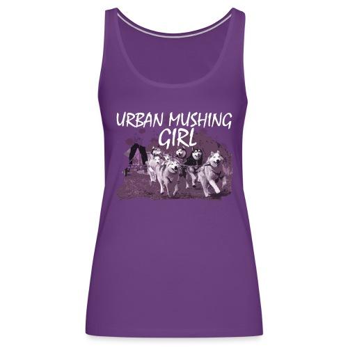 URBAN MUSHING PURPLE - Women's Premium Tank Top