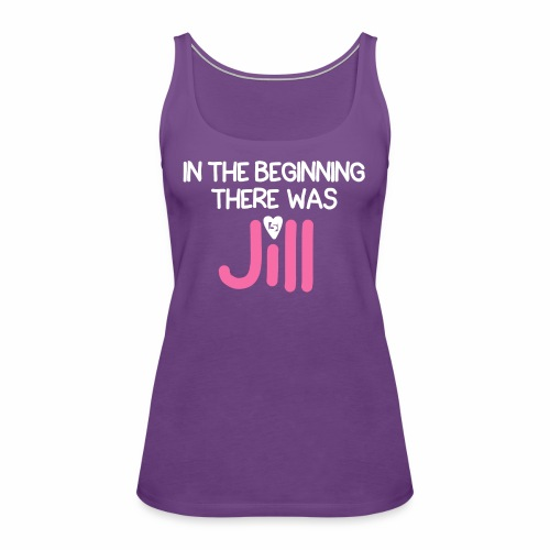 Women's In the beginning there was House Shirt - Women's Premium Tank Top
