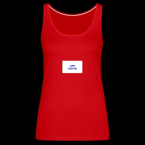 Blue 94th mile - Women's Premium Tank Top