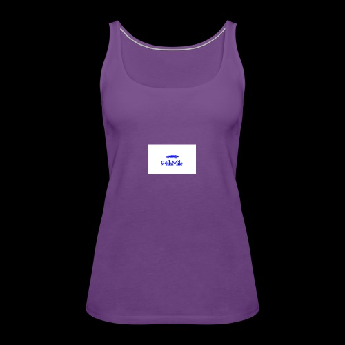 Blue 94th mile - Women's Premium Tank Top