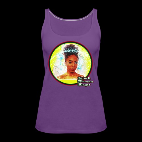 Black Woman Magic - Women's Premium Tank Top