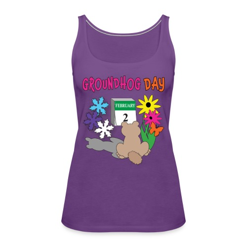 Groundhog Day Dilemma - Women's Premium Tank Top