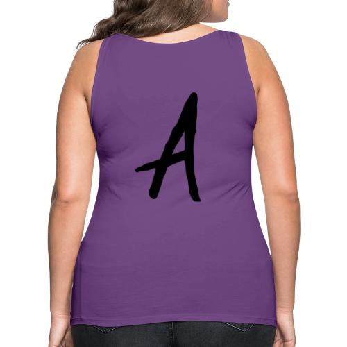 A as in LOYALTY shirt - Women's Premium Tank Top