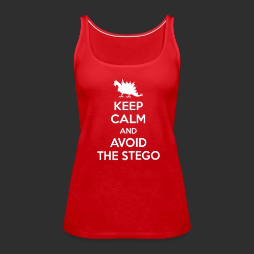 Keep Calm white - Women's Premium Tank Top