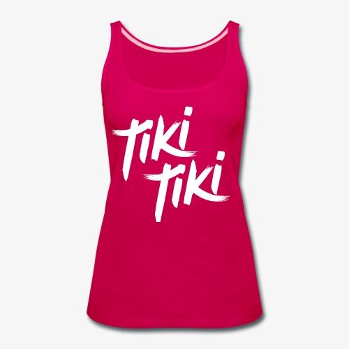 Tiki Tiki logo - Women's Premium Tank Top
