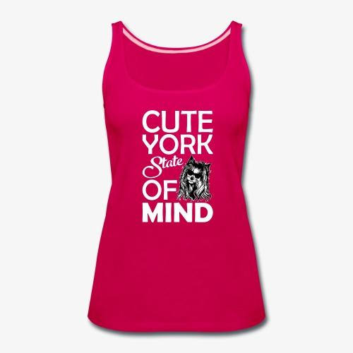 Cute York State Of Mind - Women's Premium Tank Top