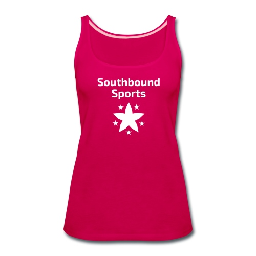 Southbound Sports Stars Logo - Women's Premium Tank Top