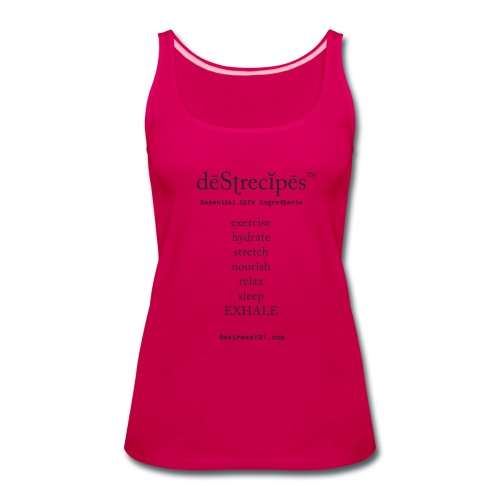 deStrecipes - Merchandise - Women's Premium Tank Top
