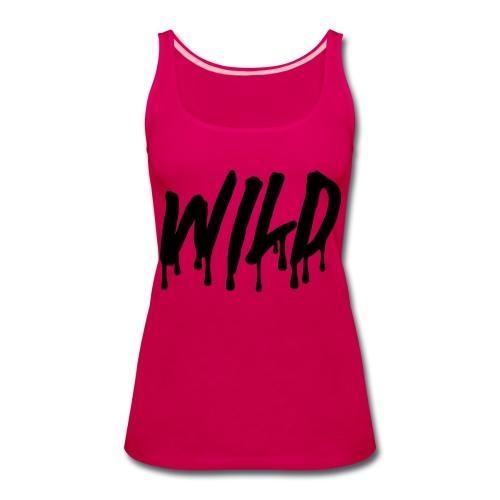 wildsmoothblack - Women's Premium Tank Top