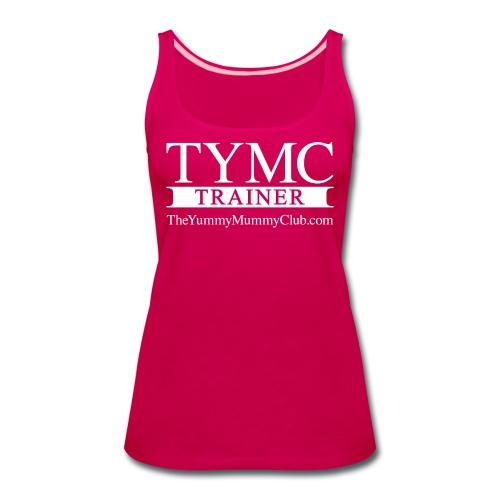 Trainer On pink - Women's Premium Tank Top