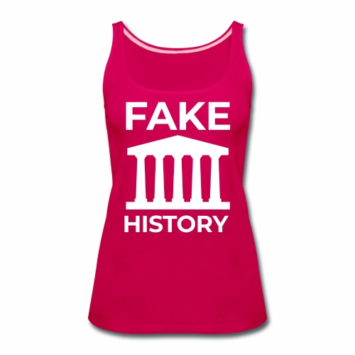 Fake History: Colonial Style Buildings Worldwide - Women's Premium Tank Top