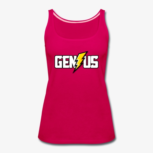 Speed of Genius - Women's Premium Tank Top