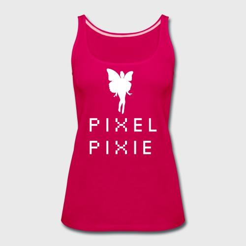 Geek Girl Pixel Pixie - Women's Premium Tank Top