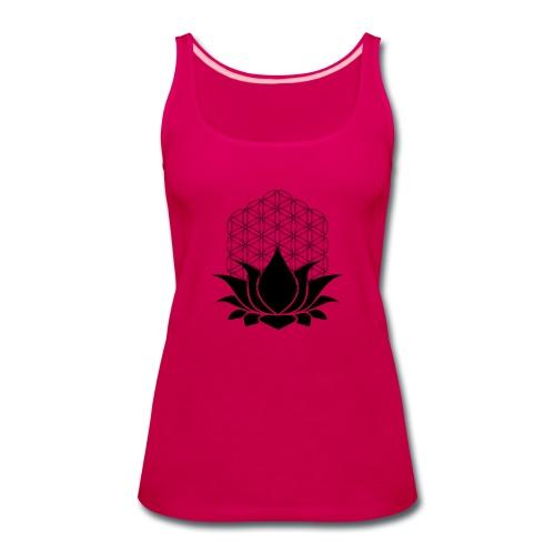 Sacred Lotus - Women's Premium Tank Top
