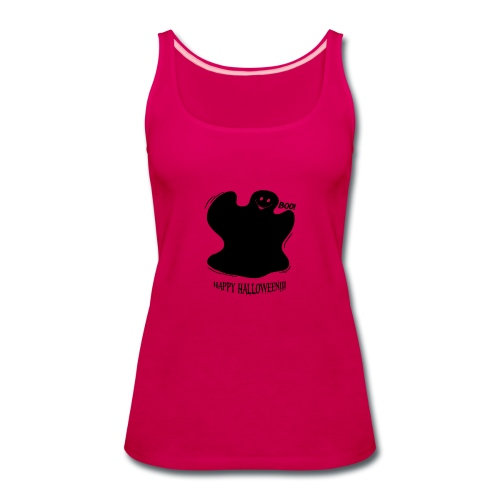 Boo! Ghost - Women's Premium Tank Top