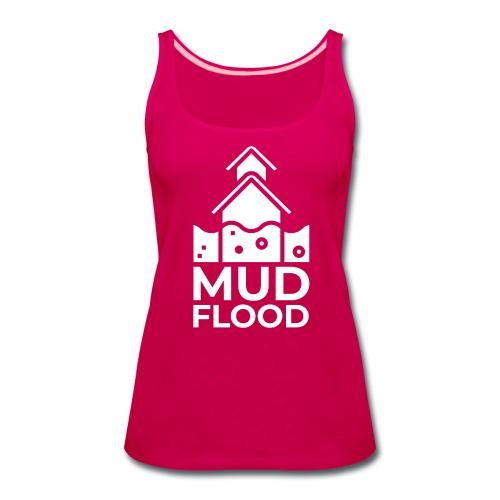 Mud Flood Evidence Worldwide - Women's Premium Tank Top