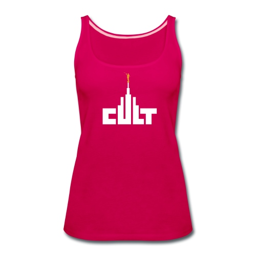 Mormon Cult Design - Women's Premium Tank Top