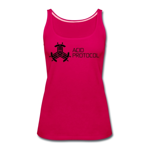 ACID PROTOCOL - Women's Premium Tank Top
