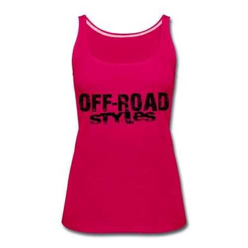 Ultimate FMX Grunge Women's T-Shirts - Women's Premium Tank Top