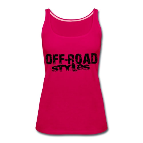 Extreme Off-Road Racing Long Sleeve Shirts - Women's Premium Tank Top