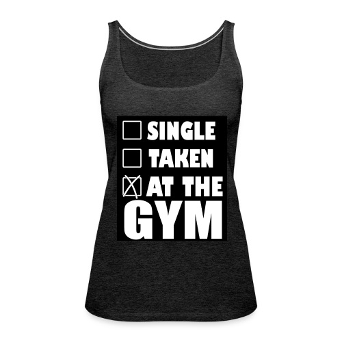 At the Gym - Women's Premium Tank Top