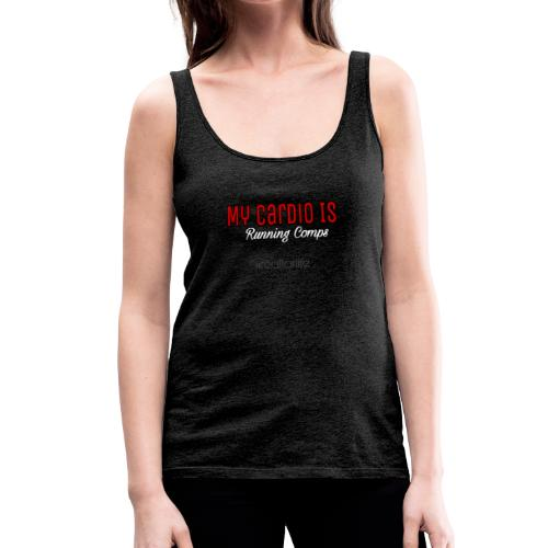 Running comps cardio - Women's Premium Tank Top