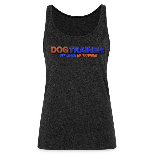 DOG TRAINER: OLK9 - Women's Premium Tank Top