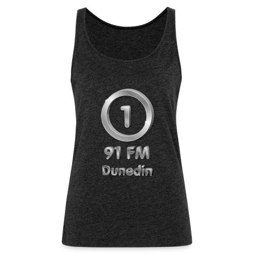 RADIO ONE 91FM MILLENIAL LOGO - Women's Premium Tank Top